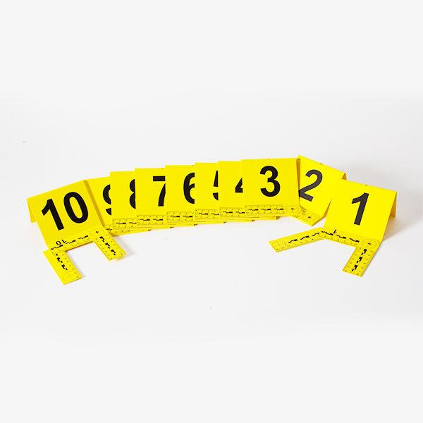Set de numere de la 1 la 20