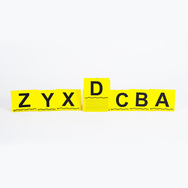 Set de litere de la A la Z