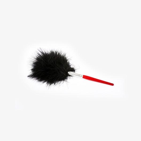 Pensula din puf de strut/marabu neagra