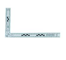 Rigla magnetica alba 15×30